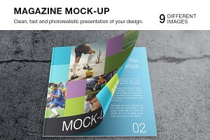 Magazine / Catalog Mock-up