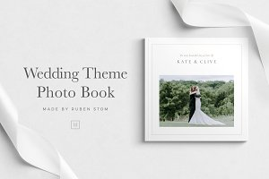 Wedding Theme Photo Book