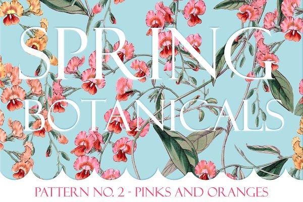 Spring Botanical - Pattern No. 2
