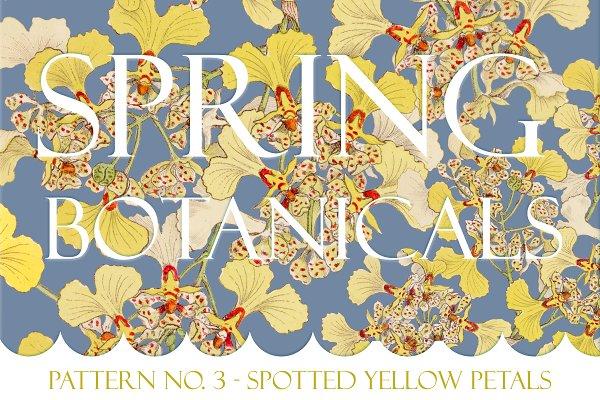 Spring Botanical - Pattern No. 3