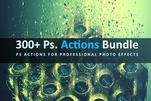 (75% OFF) 300+ Ps. Actions Bundle