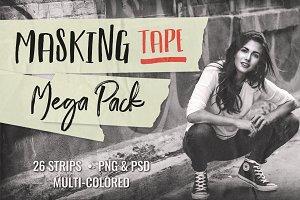 Masking Tape Mega Pack   Multi-Color