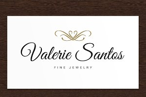 Valerie Santos Jewelry Logo - PSD
