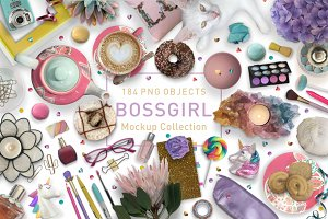 Boss Girl Mockup Collection