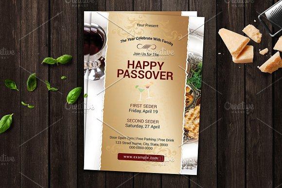 Passover Flyer - V01