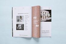 5 Magazine Mockups Templates