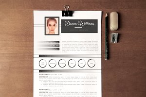 The Donna - Modern Resume/CV Pack