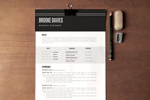 The Brooke Resume Pack