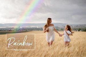 Rainbow Natural Light Overlays