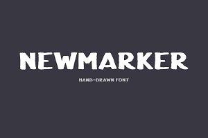 NewMarker Font
