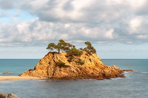 Cap Roig, a Prominent Sea Stack in C