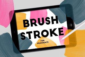 BRUSH STROKE STAMPS FOR PROCREATE