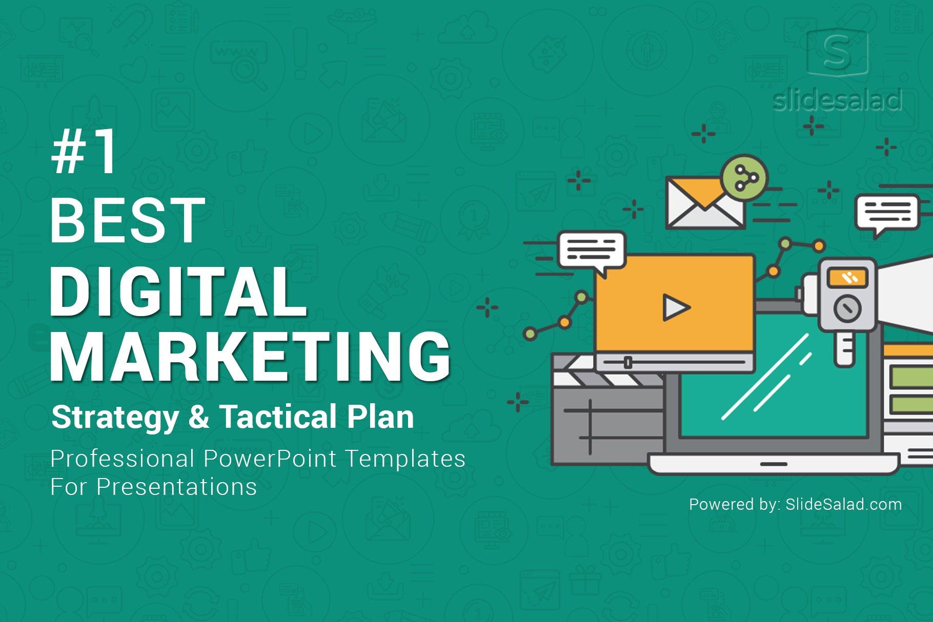 Top Digital Marketing PowerPoint | Creative PowerPoint Templates ~ Creative  Market
