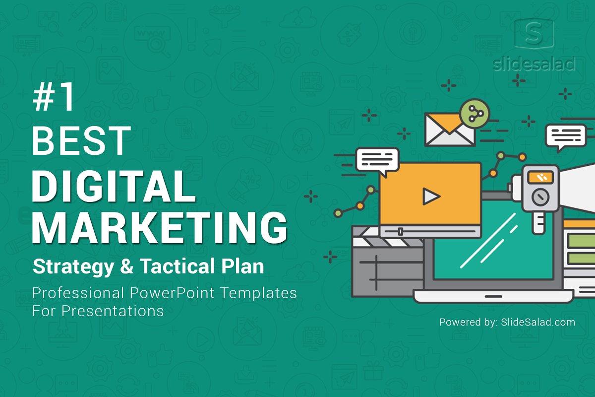 Top Digital Marketing Powerpoint Powerpoint Templates