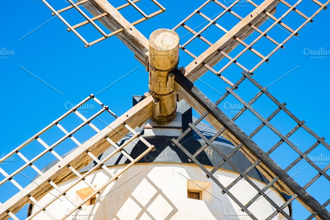 windmill of Don Quixote. Cosuegra - Architecture