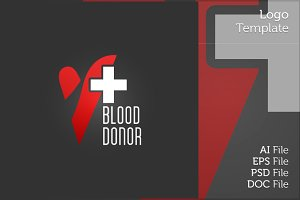 Blood Donation Logo Symbol