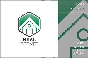 Real Estate Logo Symbol