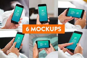 6-Pack: iPhone 6 Mockups