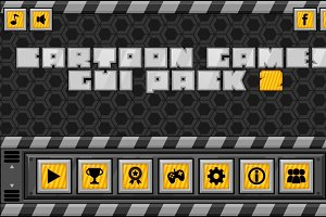 Cartoon Games GUI Pack 2
