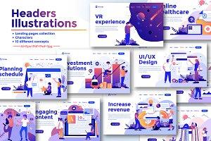 Landing page templates kit