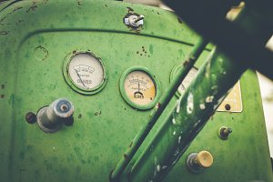 Old Tractor on Farm 1