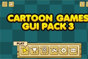 Cartoon Games GUI Pack 3