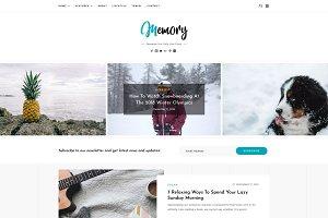 Memory - WordPress Blog Theme