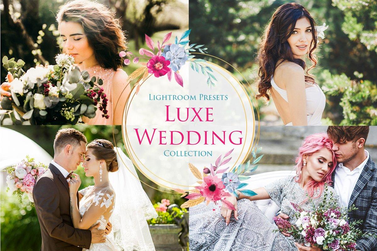 Luxe Wedding Lightroom Presets