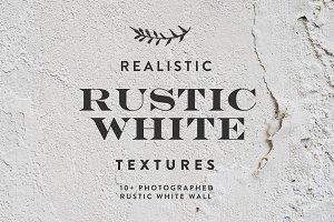 Rustic White Texture / Background