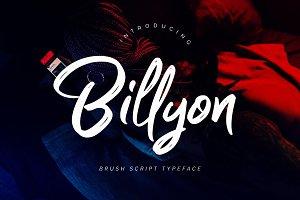 Billyon // Brush Script