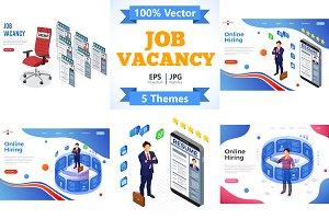 Job Vacancy Employment and Hiring