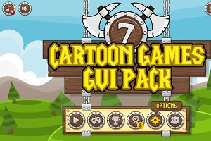 Cartoon Games GUI Pack 7