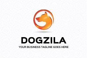 Dogzila Logo Template