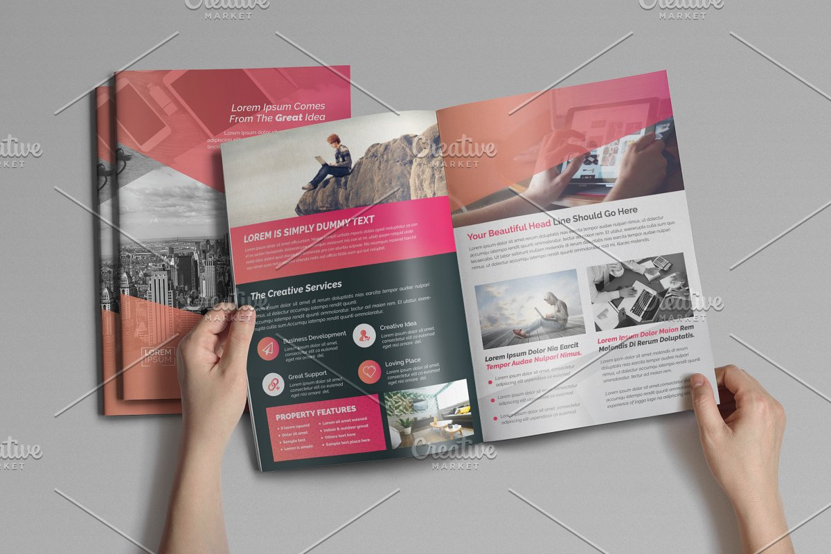 4pages Corporate Brochure