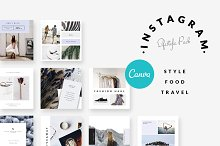CANVA | Instagram-Style Food Travel2 by  in Social Media