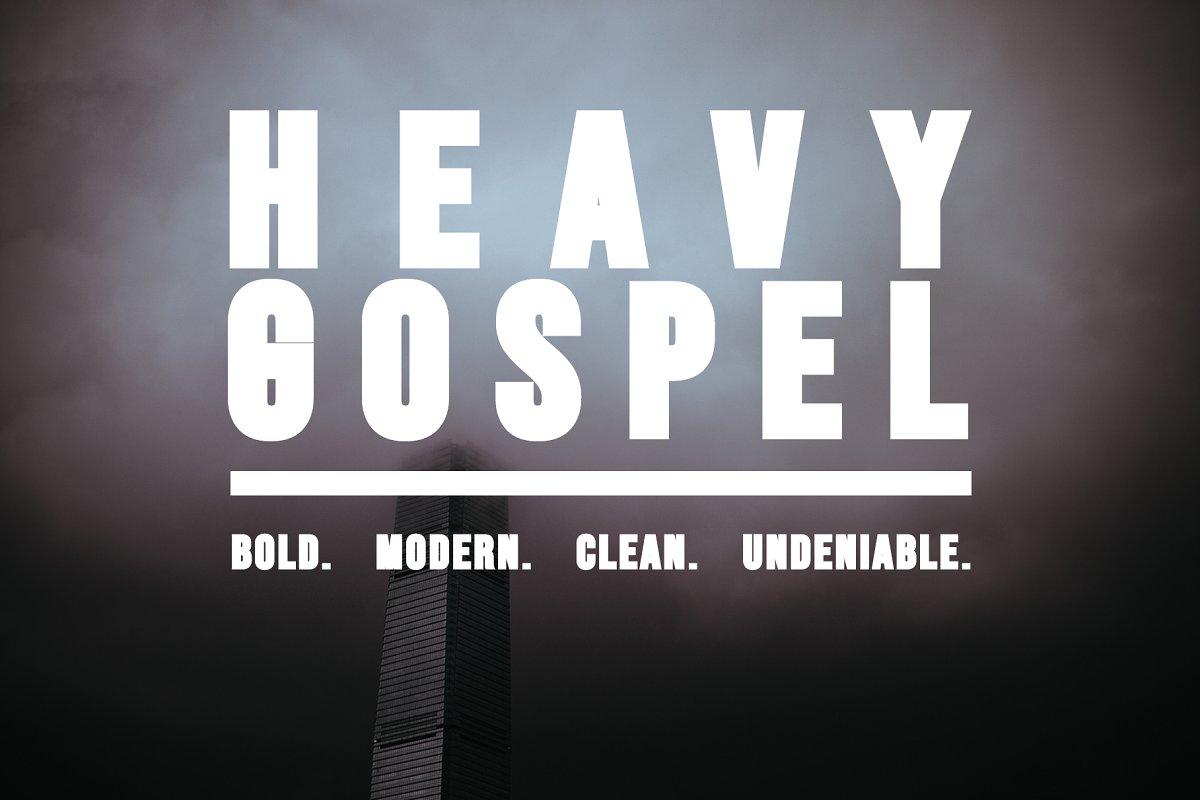 HEAVY GOSPEL - A Bold Modern Title