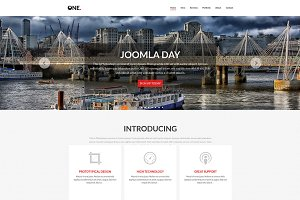 One - MultiPurpose One Page Template
