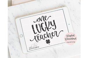 One Lucky teacher design files