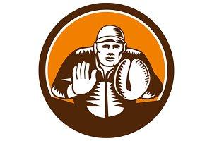 Baseball Catcher Gloves Circle Woodc