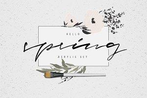 50% OFF | Hello Spring | Floral Set