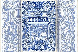 Lisbon Traditional Tiles Azulejos