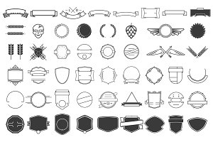 51 design elements pack bundle.