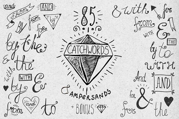 85 CATCHWORDS AND AMPERSANDS