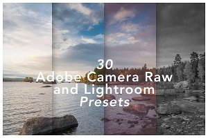 30 ACR & Adobe Lightroom Presets
