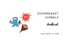 Supermarket symbols