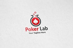 Poker Lab - Logo Template