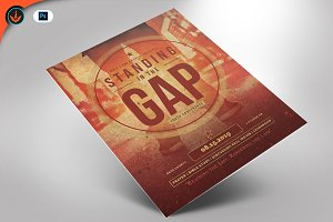 Standing in the Gap Church Flyer