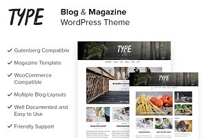 Type Plus - Magazine WordPress Theme