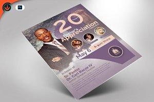 Modern Pastor Appreciation Flyer 2