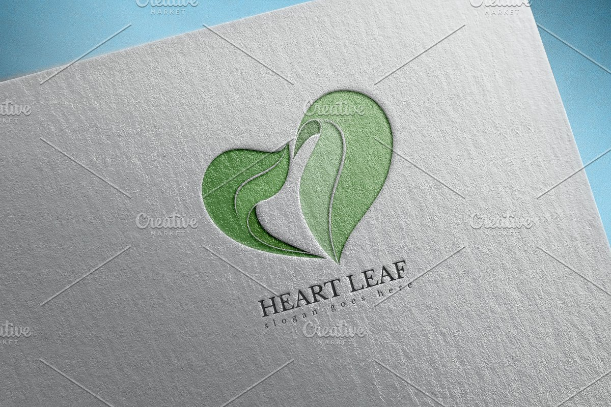 Heart Leaf Logo
